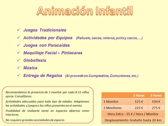 Animación Infantil Galicia