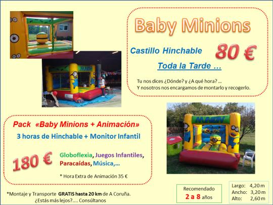 Alquiler Castillo Hinchable Lugo