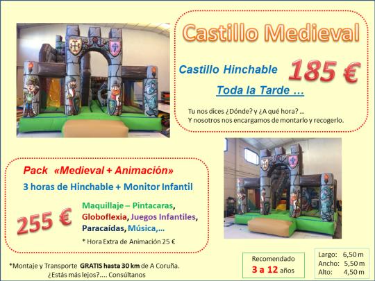 Castillos Hinchables en Galicia