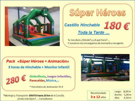 Alquiler Castillo Hinchable Galicia