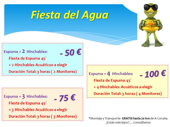 Fiesta Agua Galicia