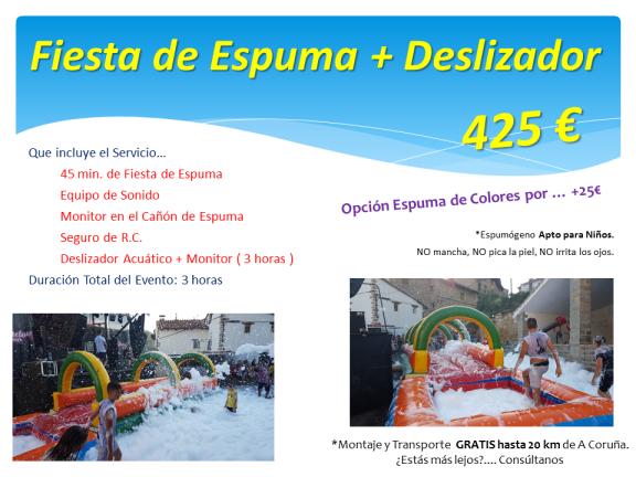 Fiesta Espuma Galicia